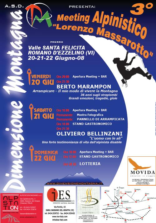 meeting alpinistico Lorenzo Massarotto